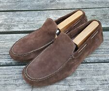 Timberland Men's Slip-On Brown Leather Casual Driving Moccasins Loafers 11 M