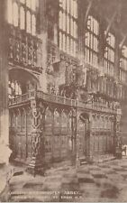 """Hundred Year old photo postcard from collection"" London - Westminster Abbey"