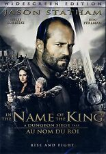 NEW DVD //  IN THE NAME OF THE KING - Jason Statham, Ron Perlman, Burt Reynolds