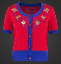 Marvel We Love Fine LARGE Cardigan Sweater: CAPTAIN MARVEL VINTAGE STAR Holiday