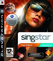 Singstar Pop Edition PS3 Playstation 3 **FREE UK POSTAGE!!**