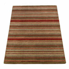 Striped Hand-Knotted Rugs
