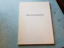 the australian / a pictorial record of the establishnent  / canberra 1964