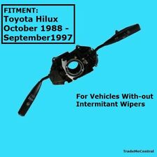 Indicator light Non Intermittent Wiper Steering Stalk Switch Toyota Hilux 88-97