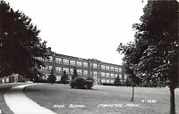 C67/ Manistee Michigan Mi Real Photo RPPC Postcard 1956 High School Building