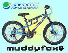 MuddyFox Idaho Boys 24″ Dual Suspension Disc Brakes Mountain Bike - New for 2018