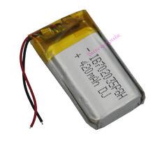3.7 V 420 mAh Polymer Li battery Li-po For Mp4 Bluetooth glassess pen GPS 702035