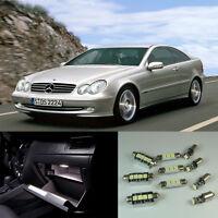16pcs white Interior LED light kit for Mercedes Benz CLK class W209 (2003-2009)