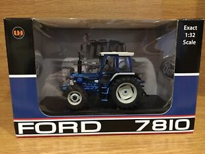 Universal Hobbies Ford 7810 Rare Blue Chrome