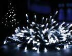 400 Blanco Brillante LED MULTI-ACCIÓN Luces Árbol Navidad Cuerda Hada Fiesta De