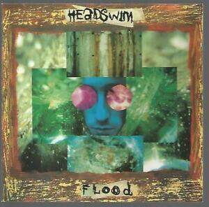 Headswim - Flood, 1994 CD Album Near Mint