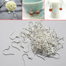 50Pcs 925 Sterling Silver French Wire Earring Hooks Fish Hook Earrings Craft Set