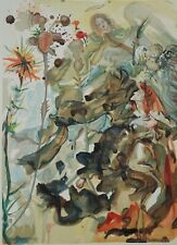 DALI Salvador : PARADIS 25 - BOIS GRAVE original  #1960-1963 #DIVINE COMEDIE