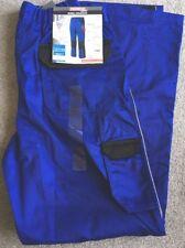 Mens Powerfix Work Zip Off Legs Work Trousers Shorts Blue Size 32