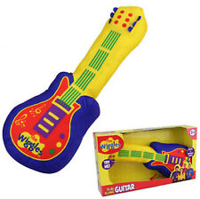 The Wiggles Plush Guitar Play Along With Sound Emma Soft Toy