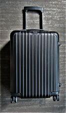 "NEW Rimowa Salsa Cabin 22"" MW Spinner IATA Luggage Matte Black Suitcase Germany"