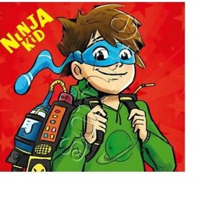 Iron on Transfer book week bookweek NINJA KID 13x12cm