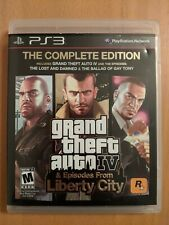 Grand Theft Auto IV (GTA 4) -- Complete Edition PS3 - Complete in Box
