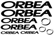 9 pegatinas de vinilo ORBEA  para bicicleta,no 548