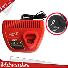 For Milwaukee M12 12V Li-ion Battery Charger  4811-2410 C12 B C12IW C12ID AU