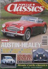 Popular Classics 05/1993 featuring Buick Electra,VW Beetle,Austin-Healey,Bentley