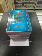 2017 AFL SELECT CERTIFIED COMPLETE SET OF 220 CARDS