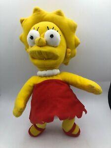 The Simpsons Lisa Simpson 2018 Universal Studios Plush Kids Stuffed Toy Doll