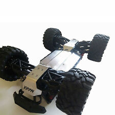 For 1/10 Traxxas MAXX Stainless Steel Chassis Armor Skid Plate Guard Upgrade Kit