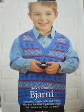 Childs Fair Isle Tank Top Knitting Pattern Magazine Extract