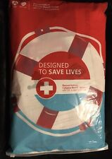 Resuscitation Cabana Beach Towel with CPR& AED Guidelines-Designed to save lives