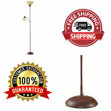 "Brown 72"" Floor Lamp Living Room Light Stand Home Decor Shade Reading Metal"