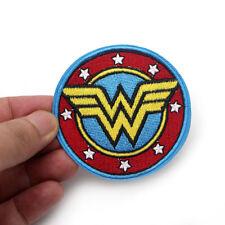 Wonder Woman Aufbügler Aufnäher Abzeichen Bügelbild Patch Cap Marvel