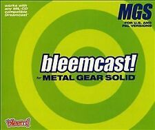 bleemcast for Metal Gear Solid (Sega Dreamcast, 2001) NEW NIB