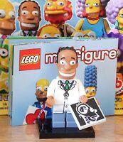Lego 71009 Minifiguren Serie 2 The Simpsons # 16 Dr. Hibbert mit Röntgenbild NEU