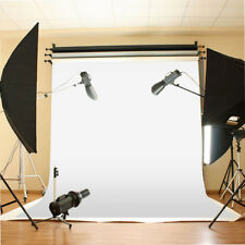White Muslin Cloth Screen Backdrop Photo Photography Studio Background 10X10ft
