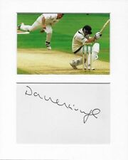 Darren Gough cricket genuine authentic signed autograph signature AFTAL COA
