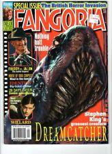 WoW! Fangoria #221   Dreamcatcher!  Freddy vs. Jason!  Willard!  28 Days Later!