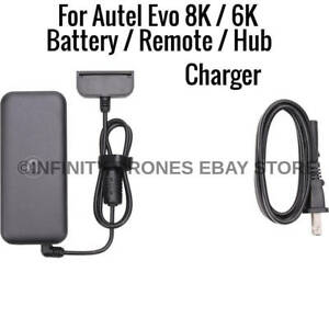 Autel Evo 2 8K 6K Drone Battery / Remote Controller Charger Power AC Adapter