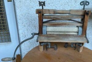 Vintage Universal Horse Shoe Brand Wash Tub Washing Machine Hand Crank Roller Wr