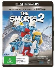 SMURFS 2 - 4K Blu-Ray + UHD + UV : NEW 4K Ultra HD