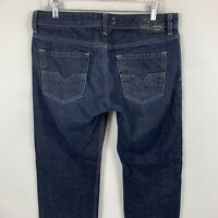 Diesel Larkee Regular Straight Wash 0088Z Jeans Mens  Size 33x34 Meas. 33x30