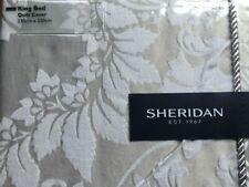 Sheridan Villers Silver King-size Duvet Cover Set BNWT  RRP £238