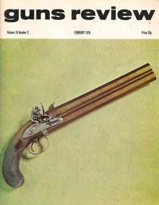 GUNS REVIEW February 1975 - .303 Martini Carbines, Purdey, Bergmann Pistol Ammo