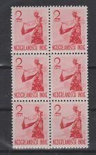 Nederlands Indie 298 MNH x6 sheet Netherlands Indies 1941 Inheemse dansers