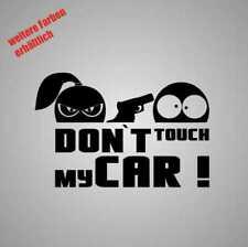 """Pegatina """"Don 't Touch My Car"""" sticker decal lámina Tuning"""