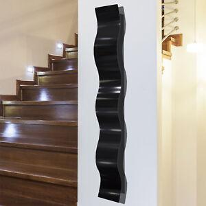 Abstract Metal Wall Art Sculpture  Wave Accent Decor Original Design  Jon Allen