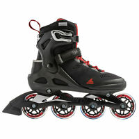 Rollerblade USA Macroblade 80 Mens Adult Fitness Inline Skate, Size 10, Black
