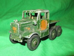 Dinky Supertoys Scammell Recovery Tractor incomplete for spares or conversion
