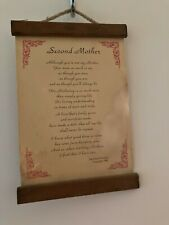 Vintage Second Mother Wall Hanging