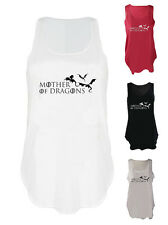 Mother of Dragons tank top GOT paw fan art vest Game of Thrones fan art singlet